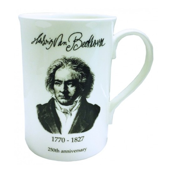 Beethovens 250th Bone China Mug