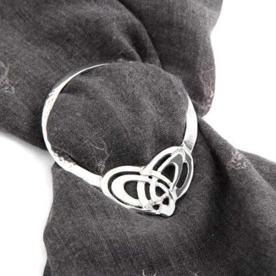 Celtic Scarf Ring LSR3