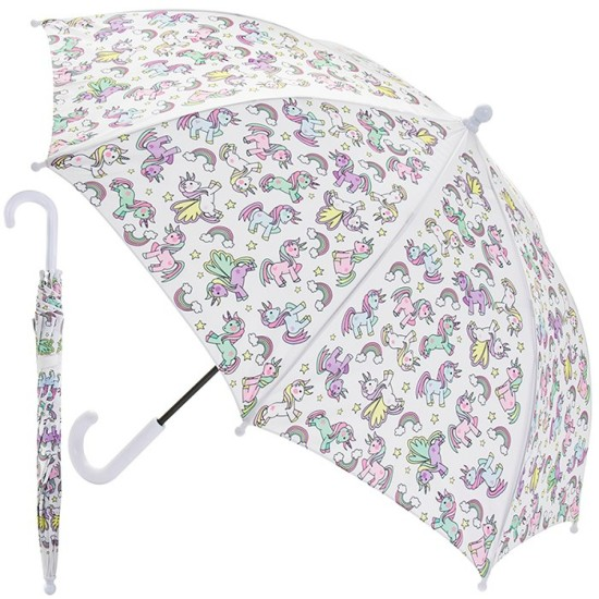 Little Stars Unicorn Umbrella