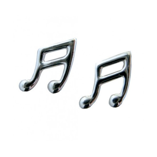 Sterling Silver Quaver Earrings